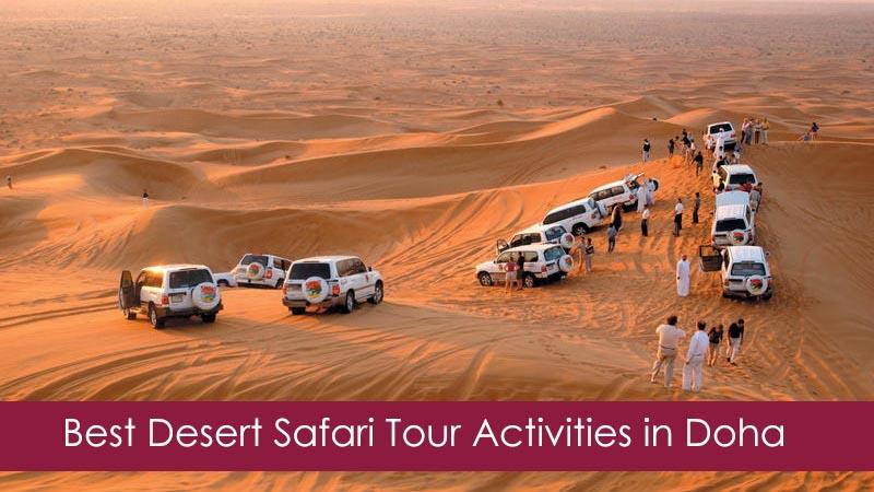 Best Desert Safari Tour Activities in Qatar