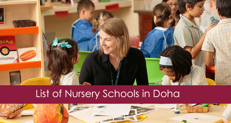 List of Nursery Schools in Qatar